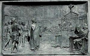 The trial of Giordano Bruno by the Roman Inqui...