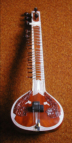 photo of miraj sitar