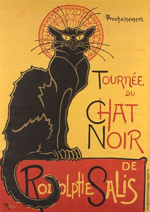 Théophile Steinlen's famous advertisement for ...