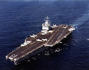 USS Enterprise (CVN-65) underway off Southern ...