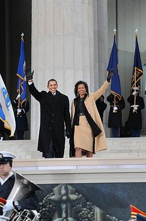English: WASHINGTON (Jan. 18, 2009) President-...