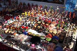 Wooden toys of Channapatna, a town in India fa...
