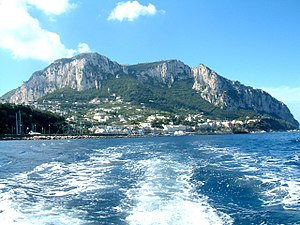 Barbarossa Castle in Capri still carries the n...