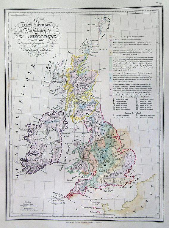 File 1837 Malte Brun Map Of The British Isles England