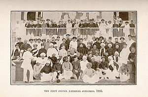 (Image of the delegates to the first meeting o...