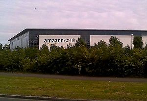 Amazon warehouse in Glenrothes, Fife; source M...