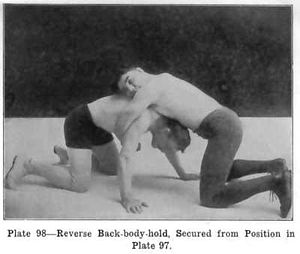 Reverse Back-body-hold as illustrated in Lesso...