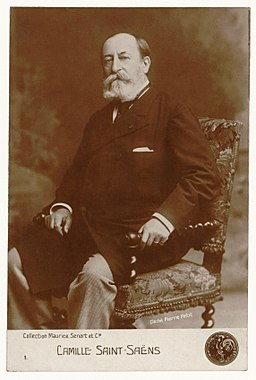 Camille Saint-Saëns in 1900 by Pierre Petit