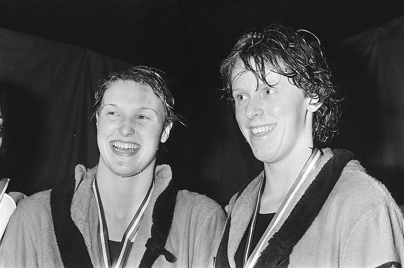 File:Conny van Bentum and Annemarie Verstappen 1983.jpg