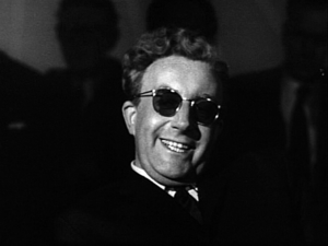English: Peter Sellers as Dr. Strangelove from...