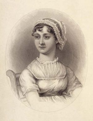 1869 engraving showing an idealized, young Jan...