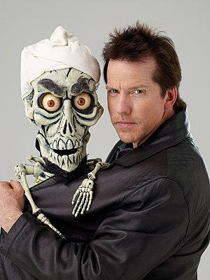 English: Jeff Dunham, American comedian, with ...
