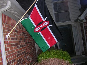 Finally got my Kenya flag from eBay. It's nice...