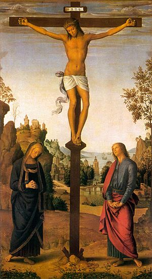 The Galitzin Triptych: Christ on the Cross