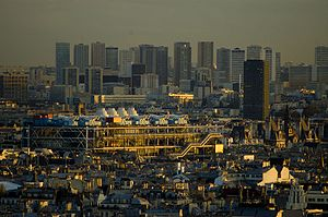 Centre Pompidou in Paris, France: Taken from S...