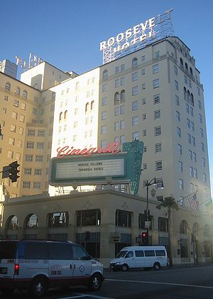 Roosevelt Hotel in Hollywood, California
