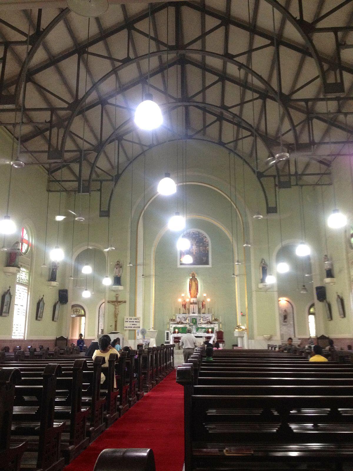 Sacred Heart Church Santacruz Wikipedia