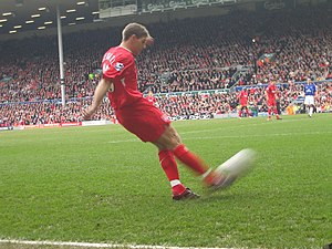English: Steven Gerrard, Liverpool F.C. footballer