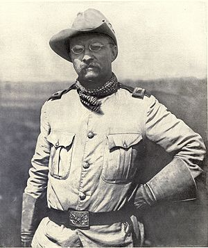 Col. Theodore Roosevelt, of the Rough Riders. ...