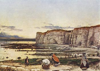 Pegwell Bay, by William Dyce
