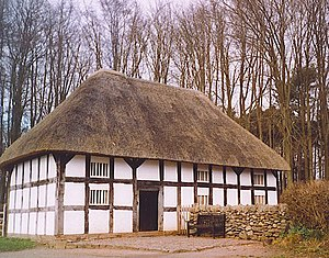English: Abernodwydd Farmhouse, Museum of Wels...