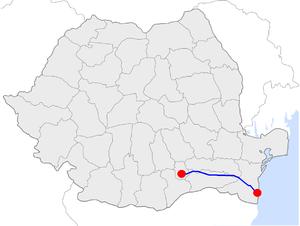 Autostrada Soarelui Harta