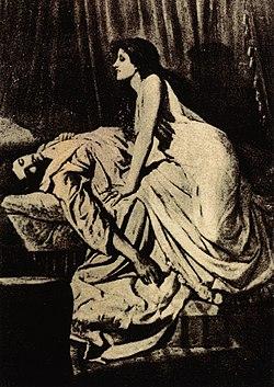 Philip Burne-Jones, The Vampire, 1897