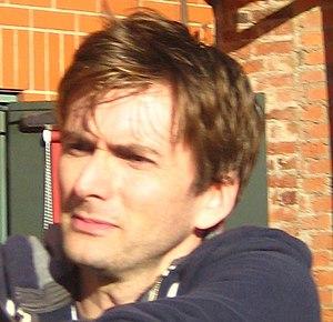 David Tennant at Stratford upon Avon. This ima...
