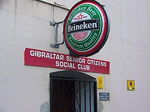 Gibraltar Senior Citizens Social Club, Town Ra...