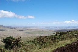 Panorámica del Valle del Rift desde Tanzania
