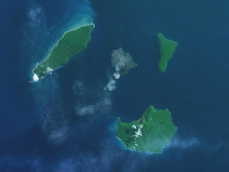 Krakatau Islands (circa 2000)