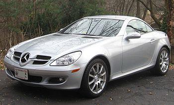 2005-2008 Mercedes-Benz SLK 350 photographed i...