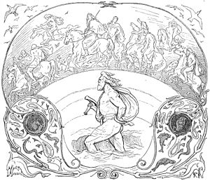 Thor wades rivers while the rest of the æsir r...