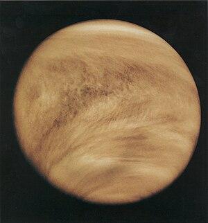 Ultraviolet image of Venus' clouds as seen by ...