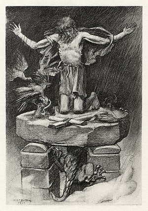 "English: Illustration to Tennyson's ""St. ..."