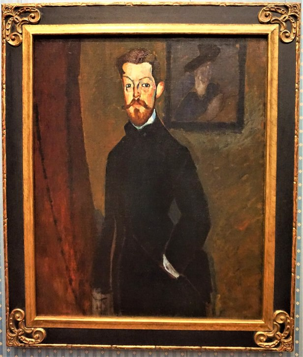 """Portrait of Dr Paul Alexandre"" by Amedeo Modigliani - Joy of Museums - Yamazaki Mazak Museum of Art"
