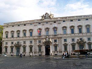 Italiano: Roma - Palazzo della Consulta