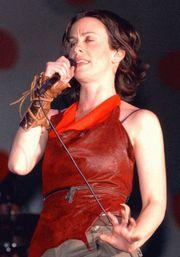 Alanis Morissette am 26. September 2003 in Brasilien
