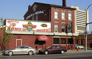 Anchor Bar located north of downtown Buffalo, ...