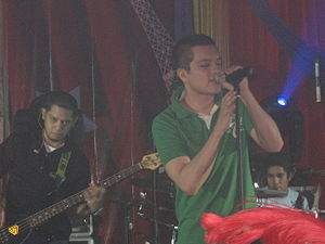 Bamboo, one of the best known Pinoy Rock bands...