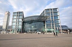 Opened in 2006, Berlin Hauptbahnhof is a large...