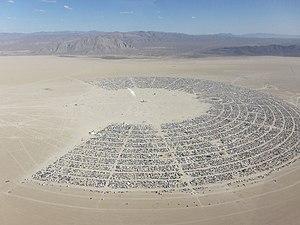 Burning Man aerial, 2011 | TheSociaholic