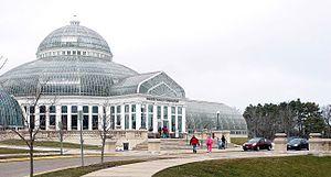 English: The Como Park Conservatory in St. Pau...