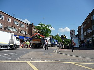 English: Exeter : Sidwell Street