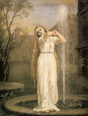 Undine, by John William Waterhouse