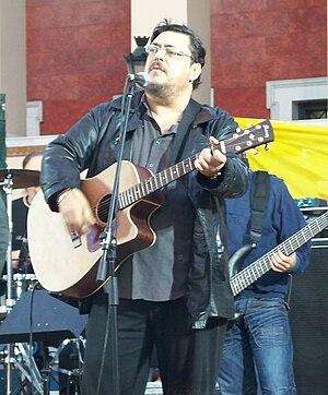 English: Greek singer Lavrentis Maxairitsas. Ε...