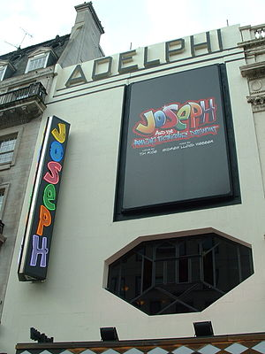 Adelphi Theatre, London, 2007 (showing Joseph)