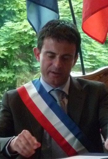 Français : Photographie de Manuel Valls prise ...
