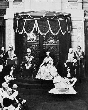 English: H.M. King George VI and Queen Elizabe...