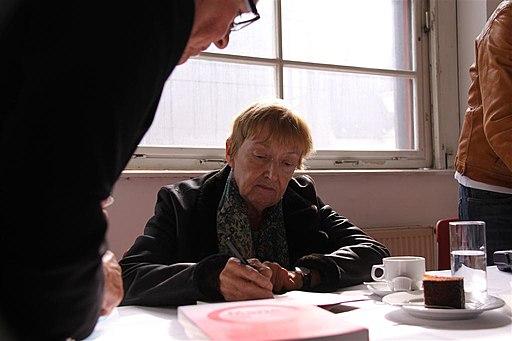 SPÖ-OÖ 2012-03-04 Lesung und Gespräch mit Christine Nöstlinger (6952052205)
